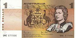 Der Australische Dollar Aud Die Offizielle Währung In Australien