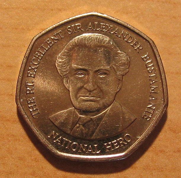 Der Jamaika Dollar Jmd Der Jay Die Offizielle Währungion Auf