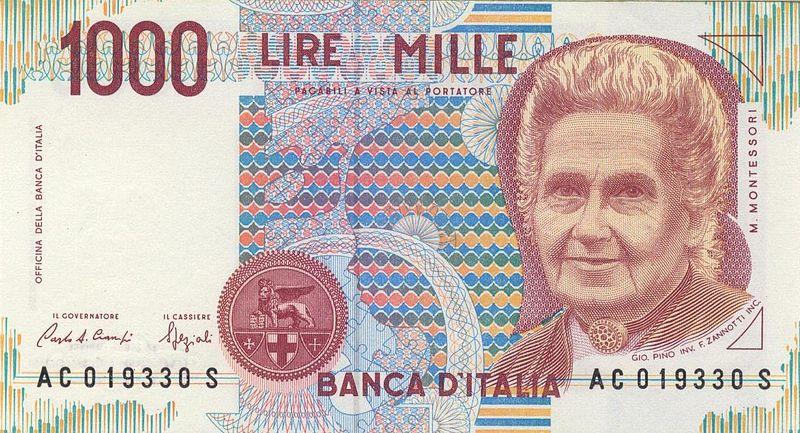 Die Italienische Lira Itl