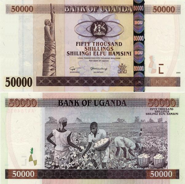 Forex uganda shilling
