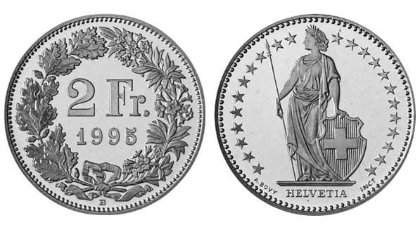 Der Schweizer Franken Die Aktuellen Münzen